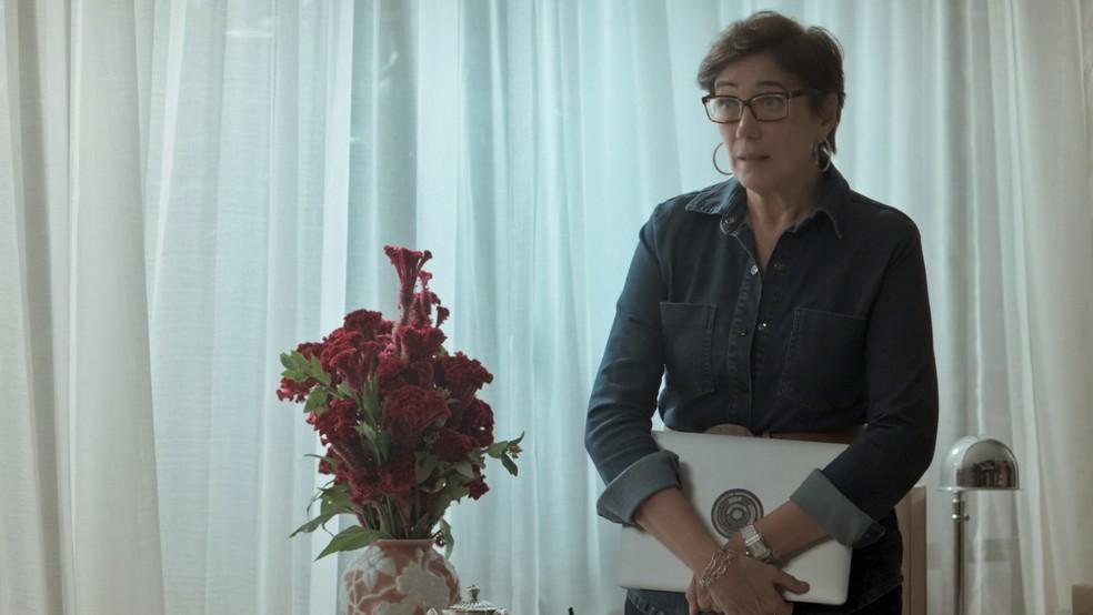 Silvana se faz de desentendida (Foto: TV Globo)