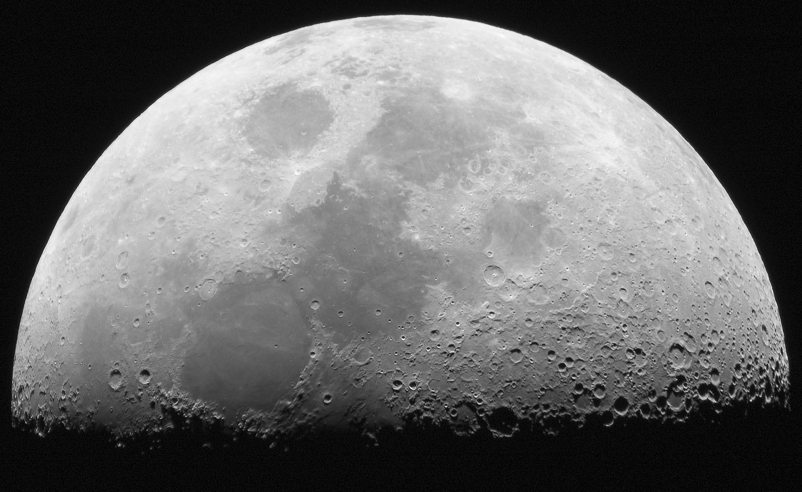 Teoria de tubos de lava da Lua não é novidade (Foto: Divulgação/Nasa)