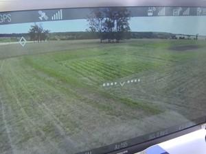 Drones vão captar imagens em tempo real através de tabletes ou smartphones Embrapa, São Carlos (Foto: Reprodução/EPTV)