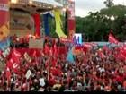 Milhares vão às ruas no dia da 'posse ausente' de Chávez na Venezuela