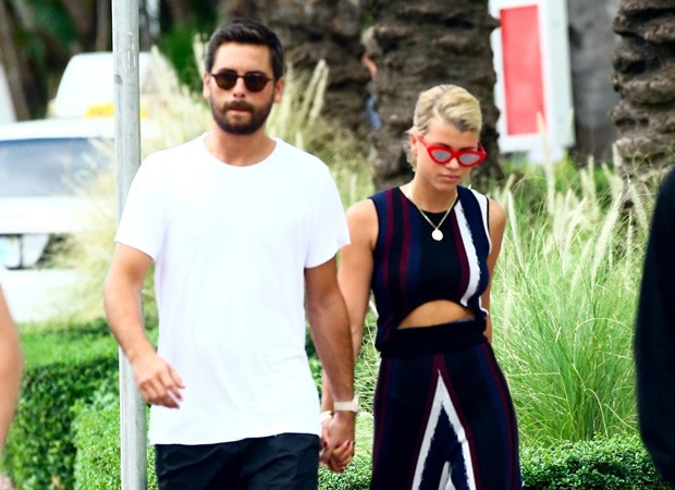 Sofia Richie e Scott Disick (Foto: BackGrid)