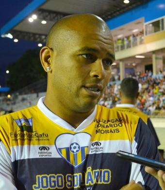 Gabriel lateral-direito Strikers (Foto: Silas Pereira)