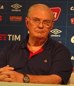 Gilvan garante que Cruzeiro desistiu de contração de Moreno (Foto: Maurício Paulucci)