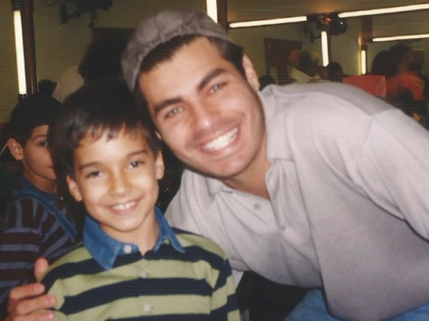 Victor com Thiago Lacerda (Foto: Arquivo pessoal)