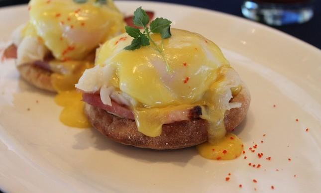 Eggs Benedict de lagosta