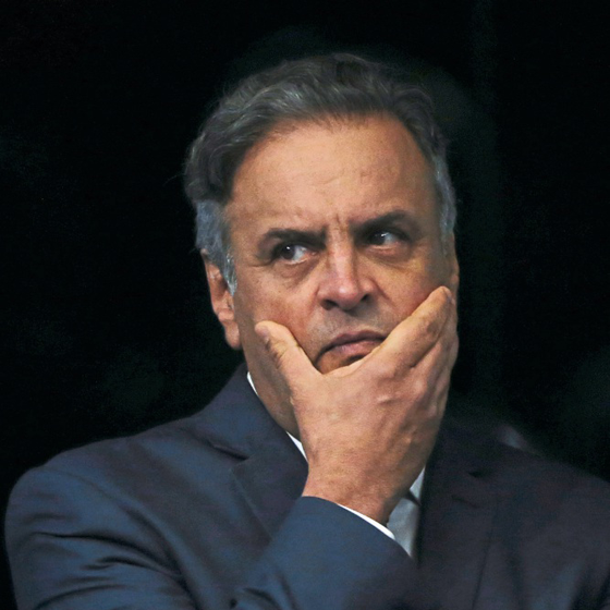 O senador Aécio Neves (Foto: Aílton de Freitas / Agência O Globo)