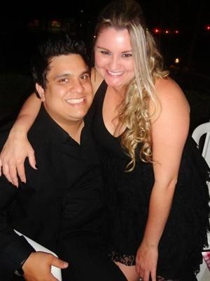Antes da dieta, programas de casal era lanchonete e sorveterias (Foto: Divulgação / Arquivo Pessoal)