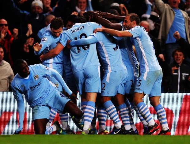 nasri Manchester City x chelsea (Foto: Getty Images)