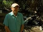 'Não caiu a ficha', diz produtor que ajudou a conter fogo de helicóptero