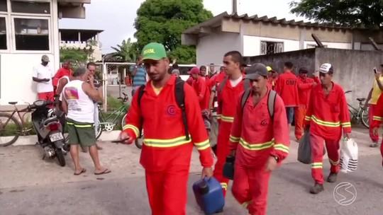 Sem salários, terceirizados do Dnit entram em greve em Angra dos Reis