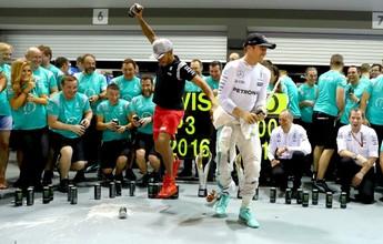 Match point: Mercedes perto do título de melhor da temporada na Malásia