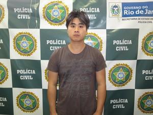 Chinês Yan Ruilong é suspeito de escravizar e torturar o próprio primo (Foto:  (Foto: Divulgação/ Polícia Civil))