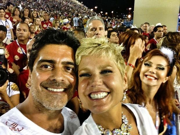 Junno e Xuxa (Foto: Reprodução/Facebook)