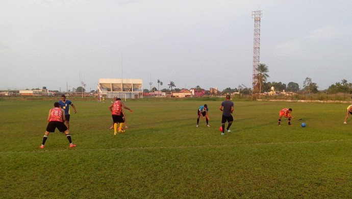 Guajará tem novo local para treinamento (Foto: Cleilson Sales/ TV Guajará)