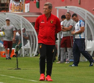 Oswaldo de Oliveira Sport (Foto: Williams Aguiar/Sport)