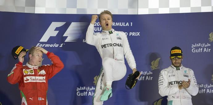 Nico Rosberg vence GP do Bahrein (Foto: EFE)