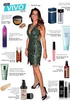 Gisele Fraga lista seus preferidos: perfume, make, hidratante...