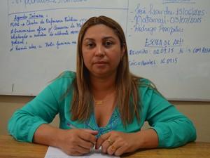 Rita Mônica Clemente, gestora da unidade em Santarém (Foto: João Machado/G1)
