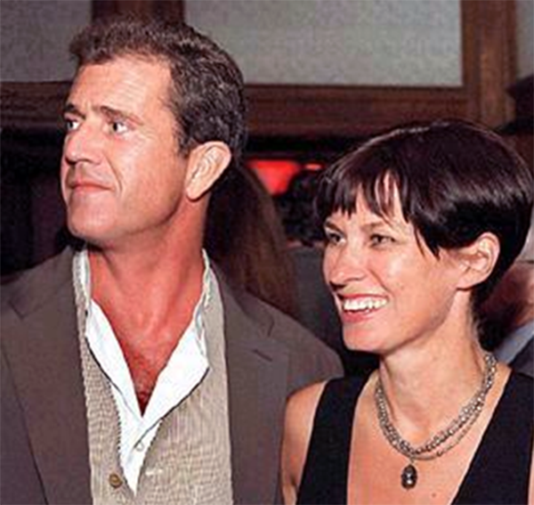 Mel Gibson e Robyn Denise Moore Gibson (Foto: Reprodução)
