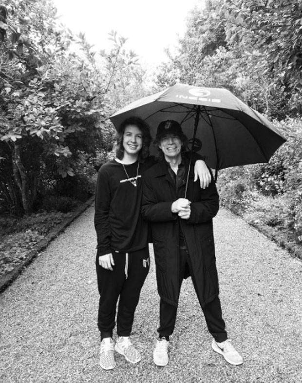 Lucas Jagger e Mick Jagger (Foto: Reprodução)