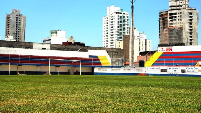 Hercílio Luz estádio do Marcílio Dias (Foto: Assessoria/CN Marcílio Dias)