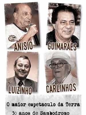 Capa do livro sobre os 30 anos do Sambódromo, de Luiz Carlos Prestes Filho (Foto: Divulgação)
