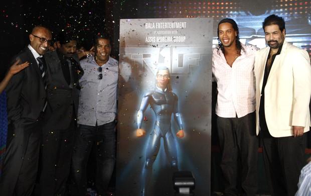 Ronaldinho, Filme (Foto: Agência AFP)