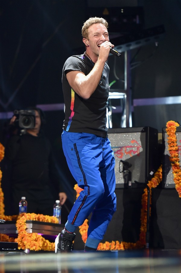 O cantor Chris Martin (Foto: Editora Globo)