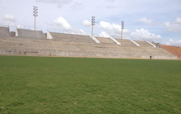 Estádio Barretão, em Ceará-Mirim, é a casa do Globo Futebol Clube (Foto: Alan Oliveira/Divulgação)