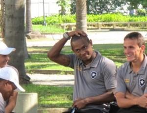 Jobson Botafogo (Foto: Fred Huber/Globoesporte.com)