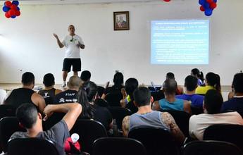 Curso de LPO termina com palestra de Jorge Califrer, em Manaus