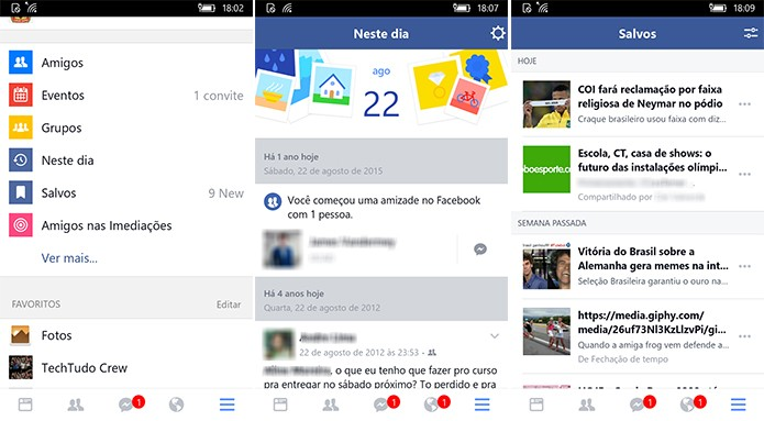 Facebook ganha app oficial no Windows 10 Mobile