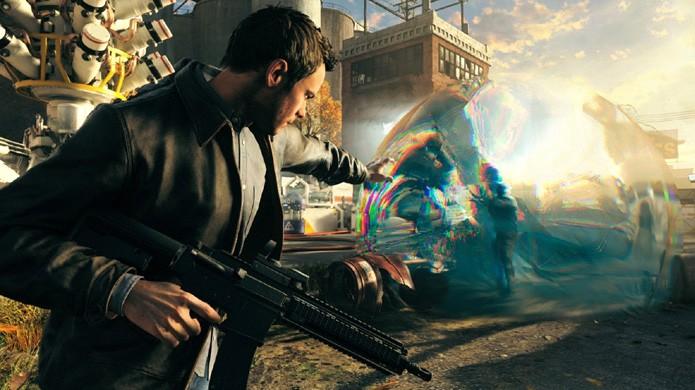 Jack pode criar bolhas ao redor de seus inimigos em Quantum Break e causar mais dano com isso (Foto: Reprodução/YouTube)