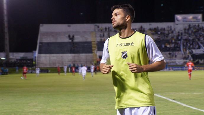 Márcio Passos volante do ABC (Foto: Augusto Gomes/GloboEsporte.com)