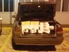 Homem é preso com 2 mil maços de cigarros e pneus contrabandeados