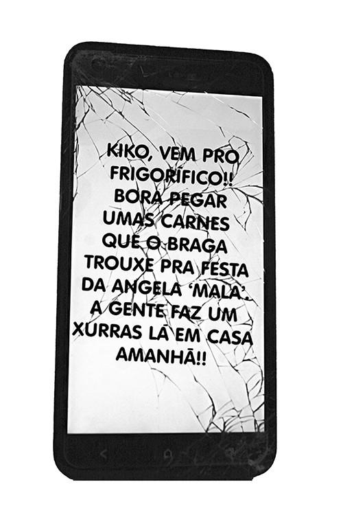 mensagem kiko
