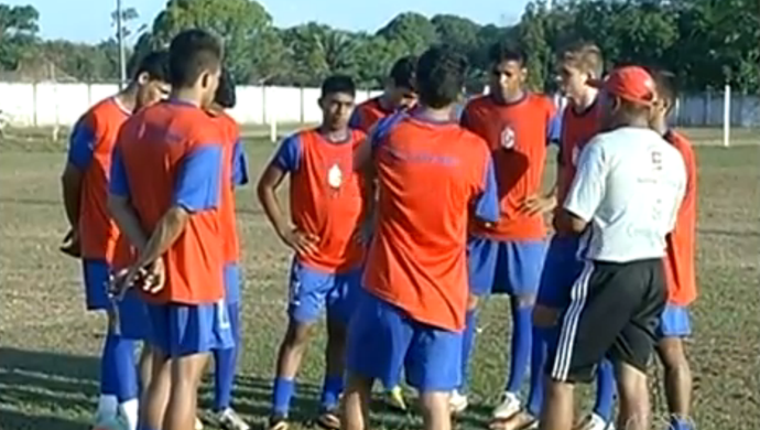Araguaína quer a primeria vitória no Sub-19 (Foto: Reprodução/TV Anhanguera)