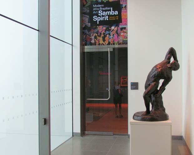 Exposição Samba Boston (Foto: Paul Clemence)