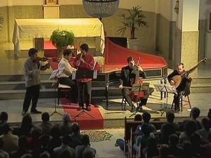 Festival de Música Colonial Brasileira e Música Antiga Juiz de Fora 4 (Foto: Reprodução/ TV Integração)