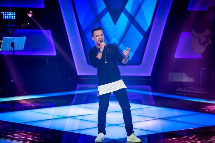 Luan Douglas acerta em sua segunda chance no 'The Voice Brasil' (Foto: Isabella Pinheiro/Gshow)