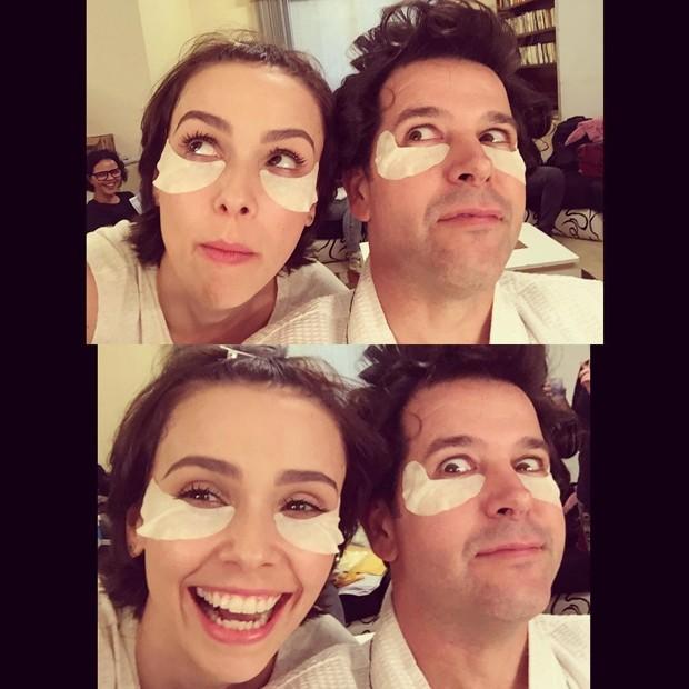 Débora Falabella e Murilo Benício (Foto: Instagram / Reprodução)