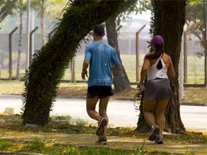 Além das aulas e cursos, a Cidade Universitária também recebe esportistas (Foto: Divulgação/Marcos Santos/USP Imagens)