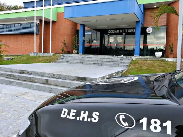 Delegacia Especializada em Homicídios e Sequestros (DEHS) (Foto: Adneison Severiano/G1 AM)