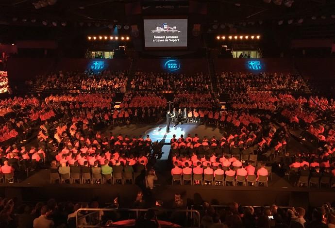 Barcelona realiza evento para apresentar o Masia 360° (Foto: Ivan Raupp)