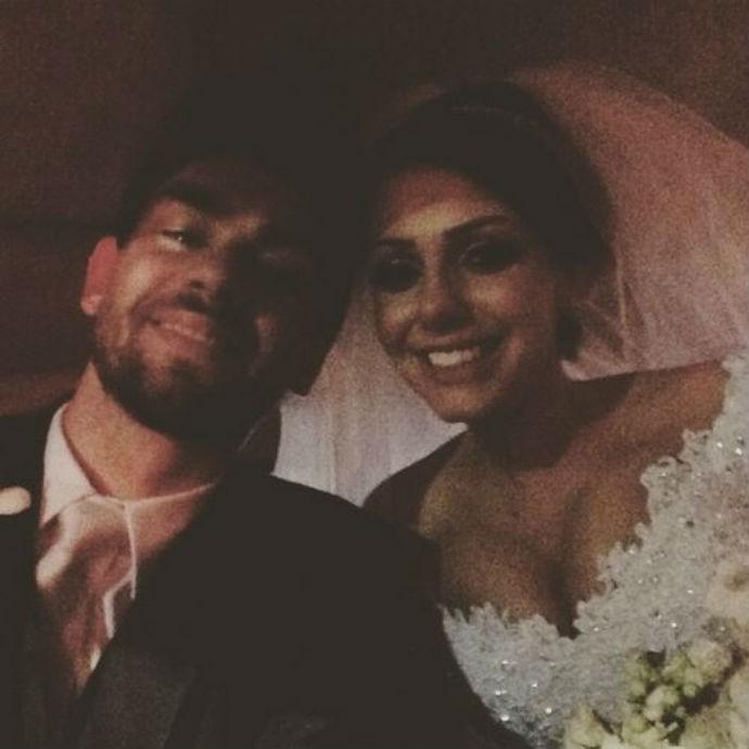 Lucão, Bia, vôlei, casamento (Foto: Reprodução/Instagram)