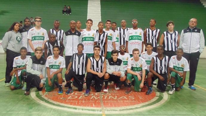 JF Celtics x Botafogo sub 15 Liga Carioca de Basquete (Foto: Caio Rossini/Divulgação)