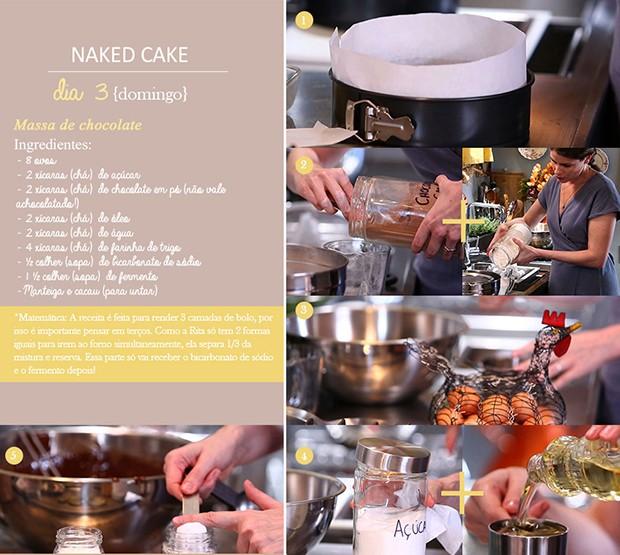 'Cozinha Prtica' - Ep. 14 - Dirio do Naked Cake - Dia 3 (Foto: Giovanna Nadruz)