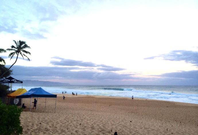 Praia de Pipeline (Foto: Pedro Gomes)