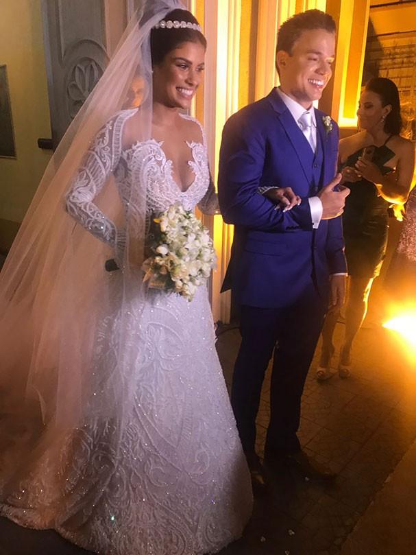 Munik Nunes se casa com empresário cearense (Foto: Divulgação)