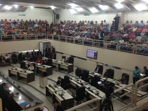 Proposta foi aprovada em sessão da Alap (Foto: Abinoan Santiago/G1)